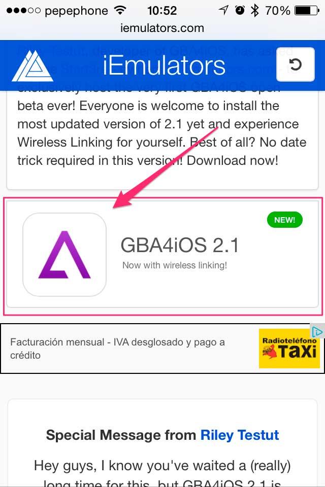 GBA4IOS-2.1