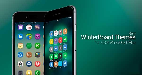 Los mejores temas de WinterBoard para iOS 8 iPhone 6 y iPhone 6 Plus