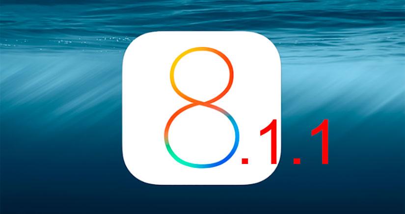 iOS 8.1.1 vendrá para mejorar el rendimiento del iPhone 4s y que os aguante otro año…