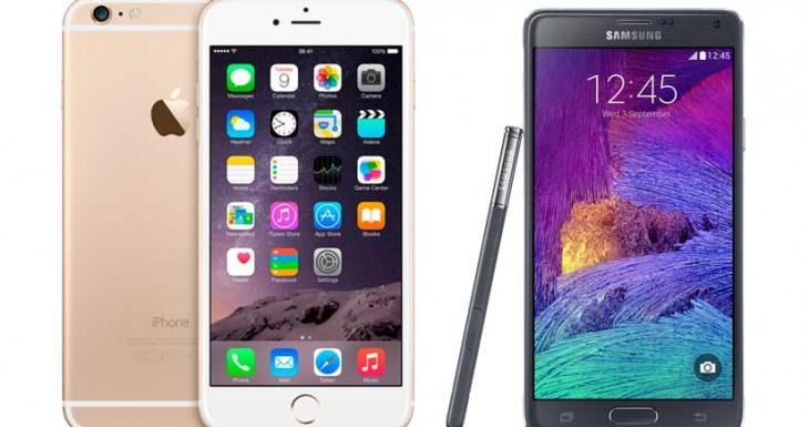 Estas son las razones por las que el iPhone 6 Plus es mejor que el Galaxy Note 4