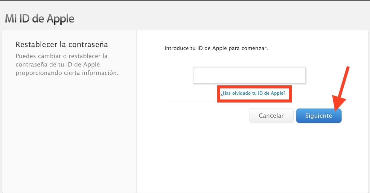 Recupera La Id De Apple Y La Contraseña Con Unos Sencillos