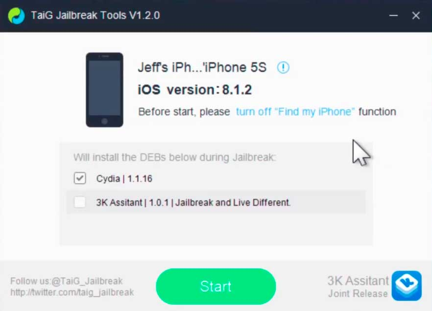 JailBreak-iOS-8.1.1/2-TaiG-1.2