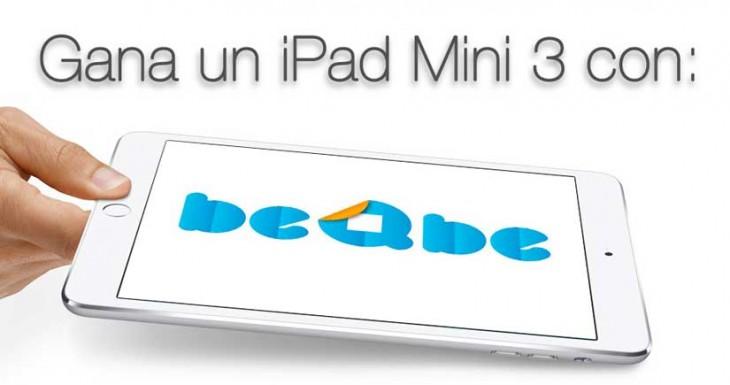 Gana un iPad mini 3 con Beqbe [Es fácil….]