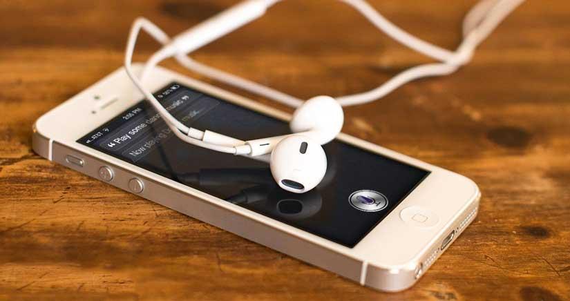 Cómo saber el espacio consumido de música por artista y álbum en el iPhone