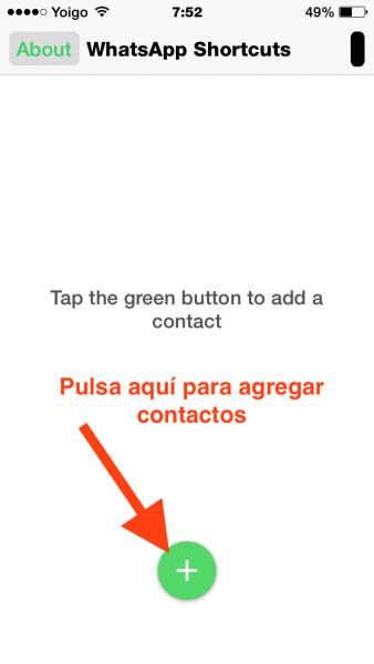 2agregar contactos