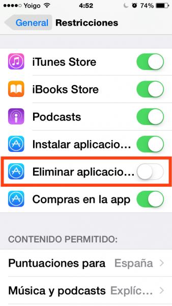 4eliminar apps