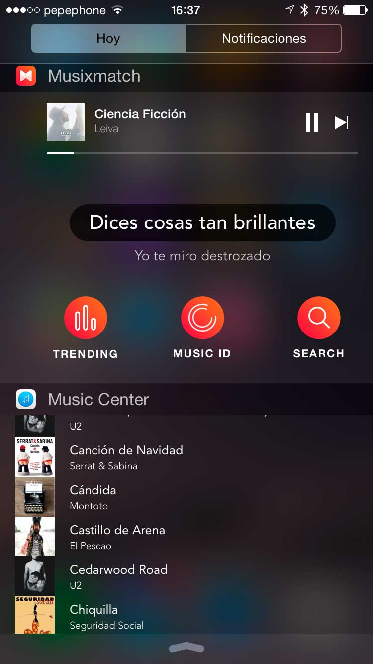Widget-de-música-iPhone