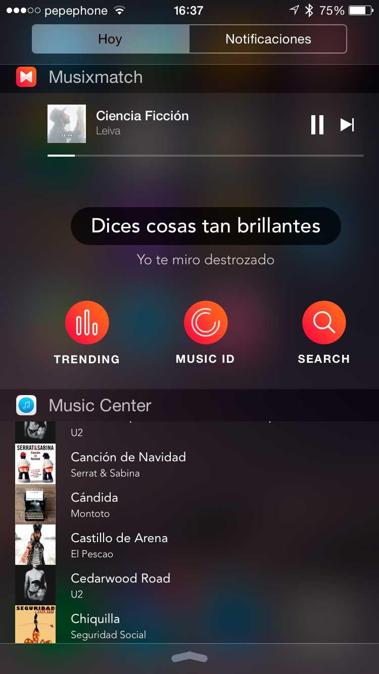 Widget-de-música-iPhone