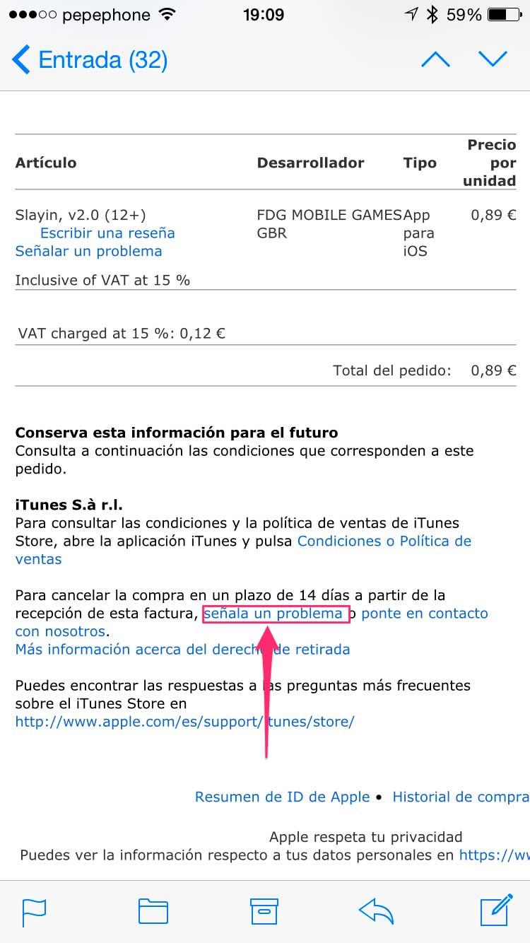 como-devolver-una-aplicación-iPhone