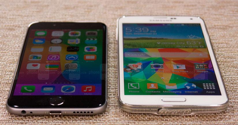 iPhone 6 Vs. Samsung Galaxy S5, mira sus puntos fuertes y débiles..