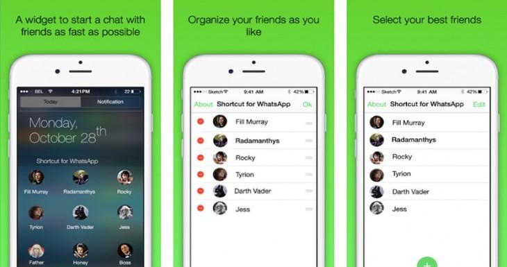 Cómo agregar accesos directos de contactos de Whatsapp en el Centro de Notificaciones