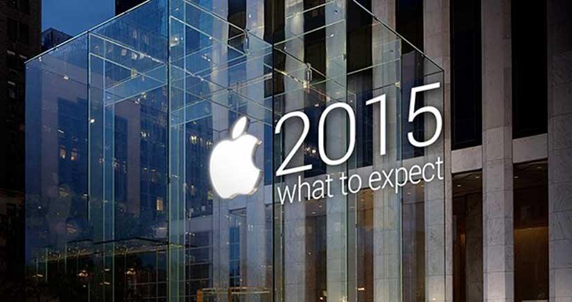 Así podría ser 2015 en cuanto a novedades de Apple [Infografía]