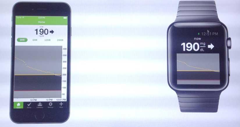 El Apple Watch podría servir para monitorizar los niveles de glucosa de los diabéticos el día de su lanzamiento