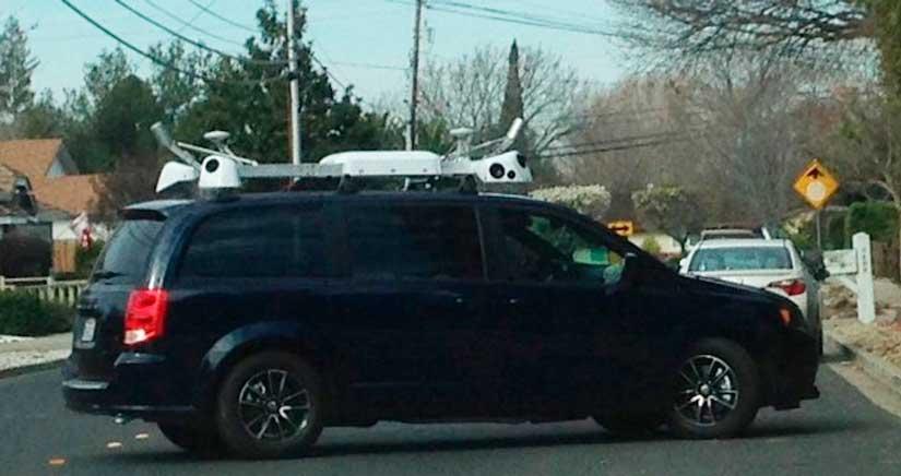 Un misterioso coche de Apple ha sido visto rodando por San Francisco [Vídeo]