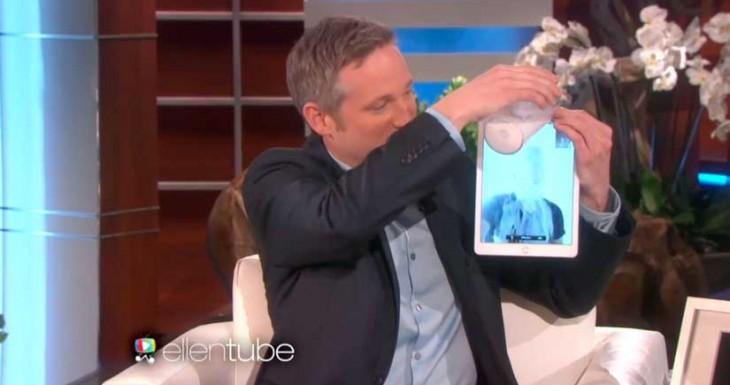 Este mago solo necesita un iPad para hacer sus trucos, el último es impresionante… [Vídeo]