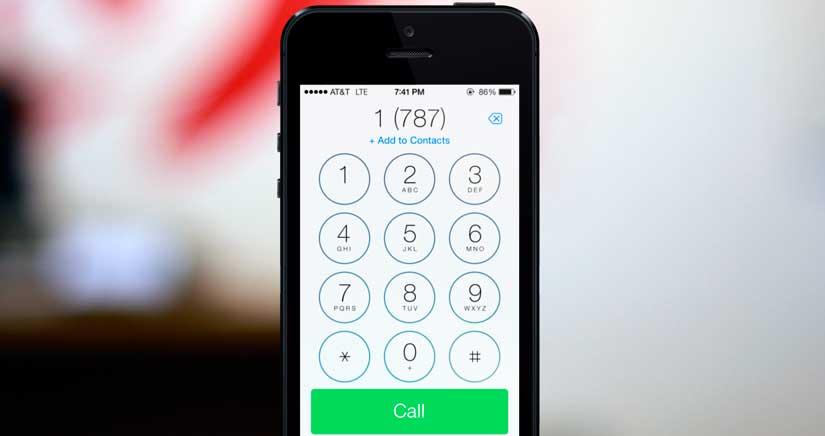 Cómo llamar con número oculto solo a la persona que quieres ocultárselo desde el iphone