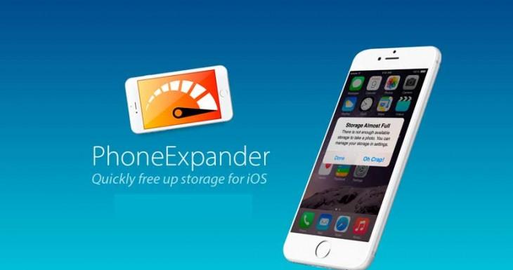 Cómo liberar espacio en tu iPhone fácil y rápidamente con PhoneExpander