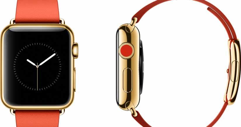 Esta es la cantidad de oro que tendrá el Apple Watch más caro, y va a ser caro de verdad….