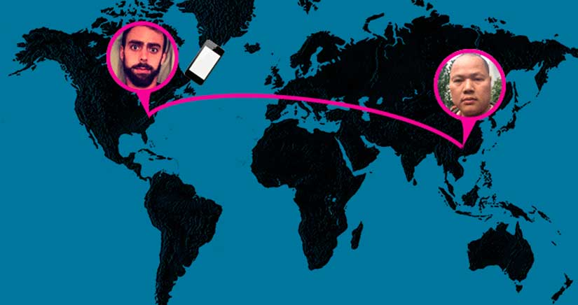 La increíble historia de un iPhone robado, el hombre del naranjo y el comienzo de una gran amistad