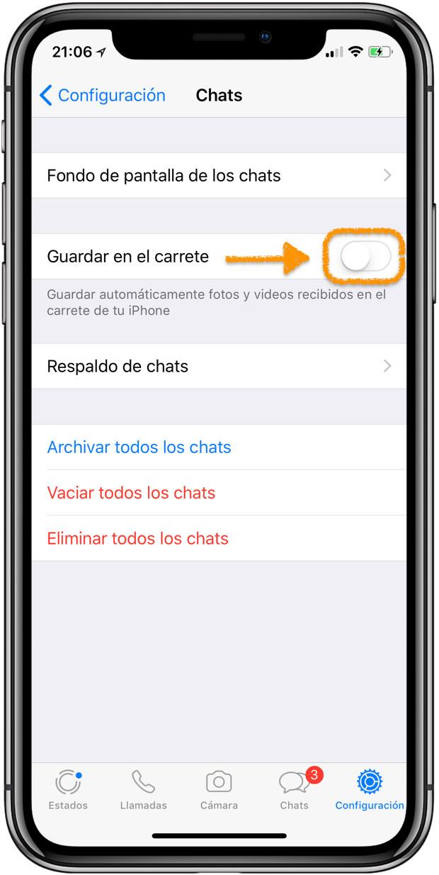 cd62dd0a1ab 5 Ajustes de WhatsApp que deberías cambiar ahora mismo | iPhoneA2