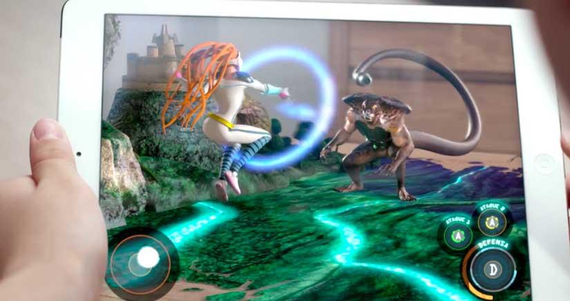 Equipo Actimel, el increíble juego de realidad aumentada que enganchará a niños (Y no tan niños…)