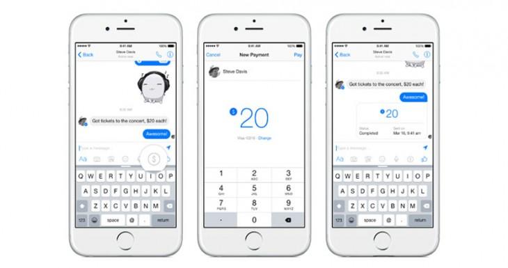 Facebook añade la función de pagos a amigos por Messenger