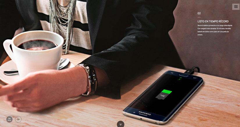 Samsung se pasa tres pueblos con el photoshop y su Galaxy S6 Edge…