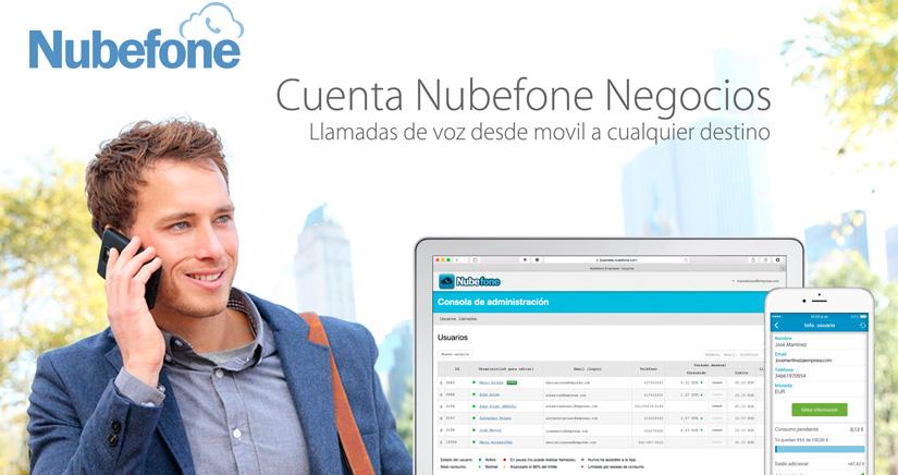 Nubefone negocios, la herramienta definitiva para las empresas que quieren controlar su gasto en llamadas