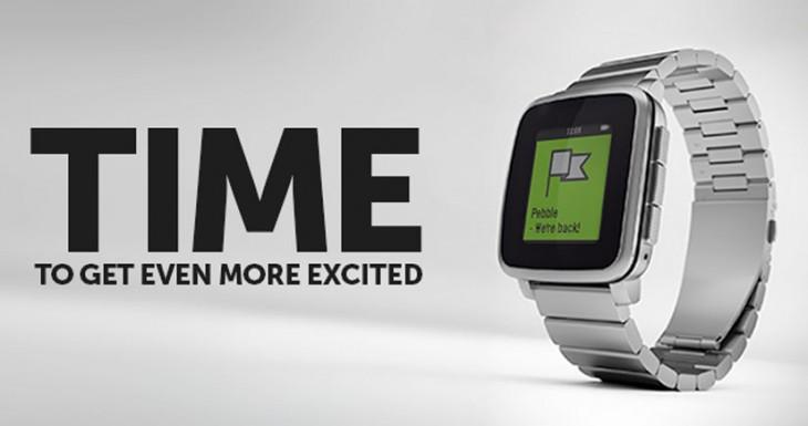 El Apple Watch ha ayudado a aumentar el interés en el Pebble Time