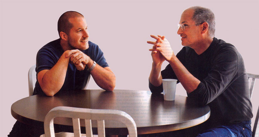 Jony Ive estuvo a punto de ser despedido por Steve Jobs