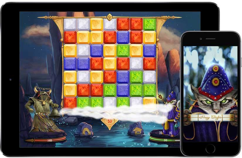 Mage Fight, el Juego de puzzles de lucha más trepidante