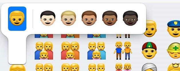 Nuevos emojis iOS 8.3