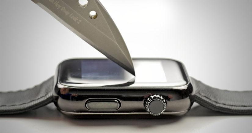 Dos vídeos muestran la resistencia a arañazos del Apple Watch y el Apple Watch Sport