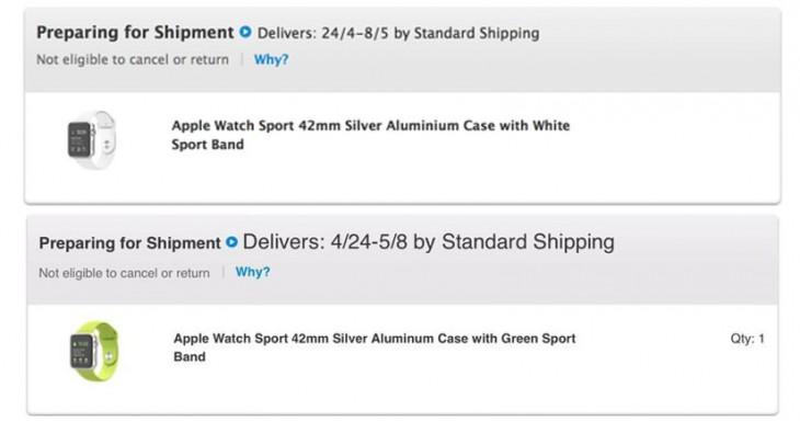 Apple se prepara para empezar a enviar el Apple Watch