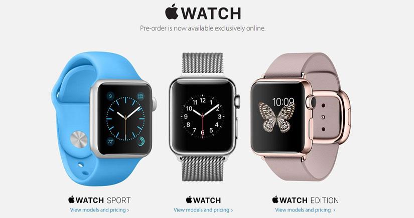 Los plazos de entrega del Apple Watch aumentan debido a la enorme cantidad de reservas recibidas