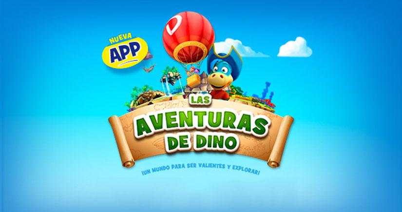 Las aventuras de Dino, un juego para dejarle el iPhone a tu hijo sin miedo
