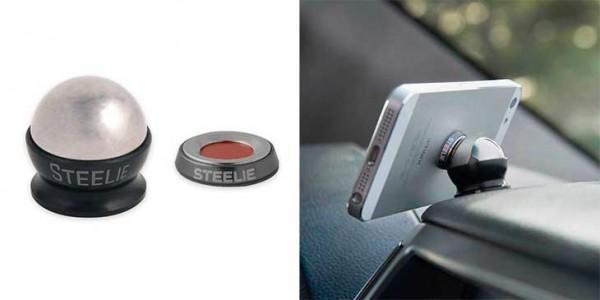 Soporte de coche minimalista para iPhone - Nite Ize Steelie