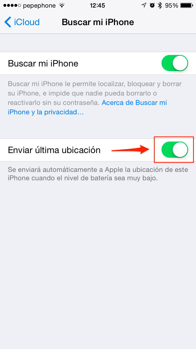 Encontrar iPhone robado o perdido