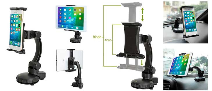 Soporte de coche para iPhone y iPad - iKross