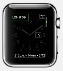 Apple Watch Complicaciones