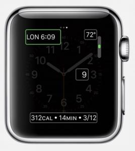 Apple Watch Complicaciones