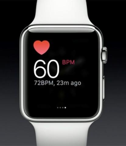 Apple Watch ritmo cardiaco