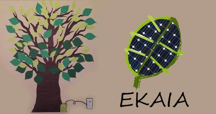 E-Kaia: un cargador para móviles que se enchufa… a las plantas