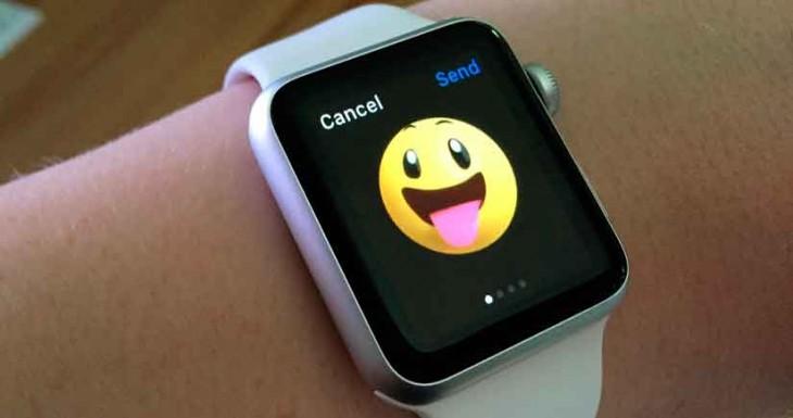 Cómo enviar los emoticonos animados del Apple Watch desde el iPhone