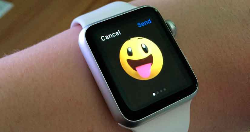 Cómo enviar los emoticonos animados del Apple Watch desde el iPhone