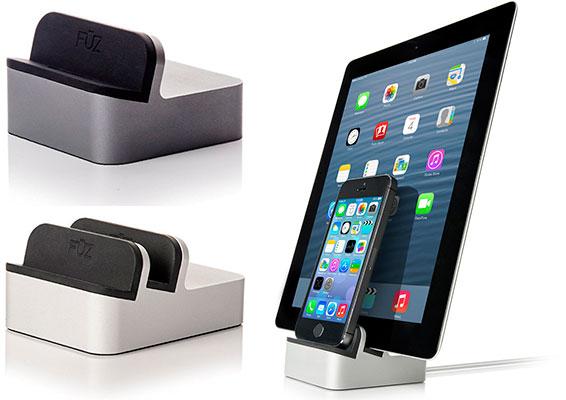 Mejor dock de carga para iPhone 6s, 6, 6s y 5 - Fuz Designs EverDock