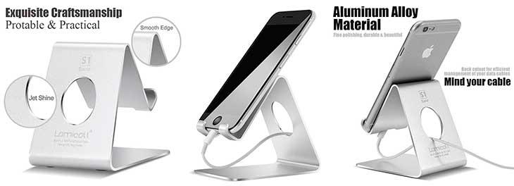 Soporte barato para iPhone - Lamicall