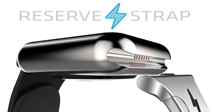 Reserve Strap, la correa que cargará tu Apple Watch utilizando un puerto oculto