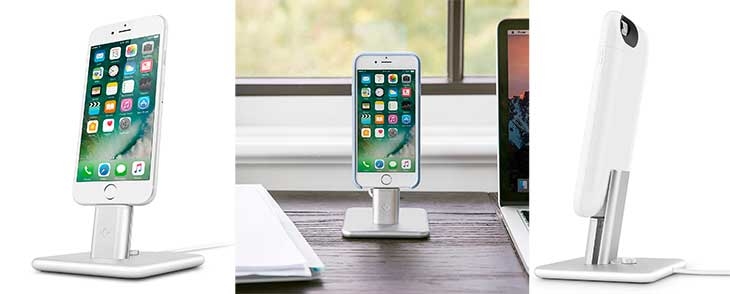 Dock para iPhone con excelente diseño - Twelve South HiRise 2
