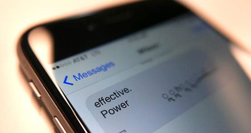 Apple ofrece una solución para el mensaje malicioso que bloquea el iPhone